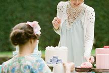 vintage high tea dress