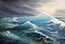 painting Sea scape