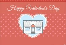 Valentines to Small Business Owners  / Happy Valentine's Day! We know being a small business owner is no easy task; it takes a lot of courage, determination and passion to follow your heart and turn your dream into a reality.   This Valentine's Day, we wanted to express our love and appreciation for our customers, supporters, and small businesses everywhere with a few employee-made Valentine's Day cards.