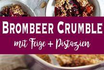 brombeer crumble