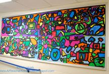 front of school art ideas