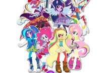 equestria girls party theme.