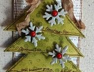Crafts: Paper / Cards, Tags, Scrapbook Pages, Stamping, etc.... / by Kelli Berry