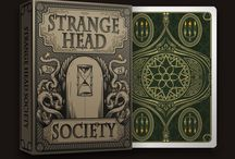 Strange head society - playing cards / New playing cards deck from Anomaly world studio