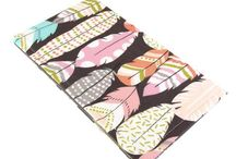 Five Sprouts Handmade Women's Fabric Checkbook Covers / These are our 100% handmade fabric women's checkbook covers.