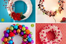Christmas wreaths / by Tara Fisher
