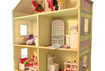 Doll houses, accessories, and care / Things for dolls of all sizes