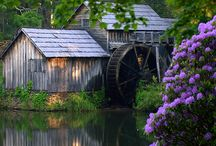 WINDMILLS | WATER WHEELS
