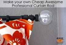 {DIY Curtains, Draperies, & Blinds} / All things about DIY window treatments.