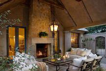 outdoor living / ideas for patio