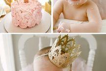 Baby erster Geburtstag