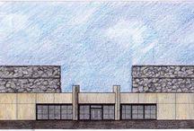 Wineries | Bodega Séptima / Proyecto: Eliana Bórmida y Mario Yanzón, arquitectos.2001. Superficie cubierta: 5.400 m2 Capacidad de elaboración: 1.500.000 litros. Agrelo, Luján de Cuyo, Mendoza, Argentina