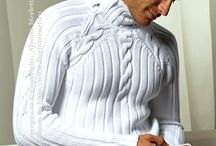 Вяжем для Мужчин - Кnitted clothing and accessories - / Вязание для мужчин: свитера, пуловерыи прочие модельки мужской одежды. …