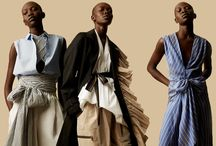 M'O + TOME / Tome has teamed up with Moda on an exclusive capsule spotlighting some of the label's best selling pieces—culottes, open back shirting, pleated caftans—with fresh and unique updates. Delivering at the start of summer, they offer a perfectly timed wardrobe refresh. / by Moda Operandi