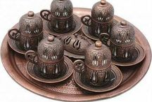 Turkish  Coffee  Espresso Copper Set