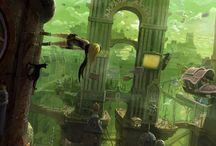 Je rêvais d'un autre monde... / Art concept & Art of animation