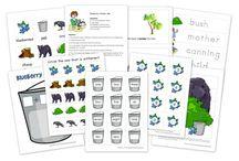 Preschool Bears unit / by Berry Clarkson