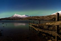 Northern Lights in Assynt