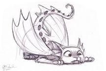 Dragons / Drawings