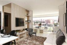 Decoração clean / Lindas inspirações de decoração clean, ambientes aconchegantes e sofiticados.