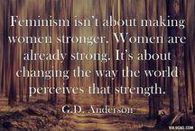 feminism / by Hannah Gustafson