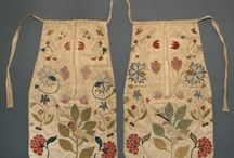 18th Century Embroidered Pockets