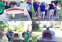 Customers Brick Oven Projects / One of the most rewarding things about offering do it yourself brick ovens, is seeing our customers progress with their project, and their vision! Here are some great projects in the making.