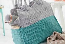 Hackovane kabelky-Crochet bag