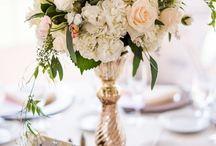 центральные вазы на стол /свадьба,юбилей