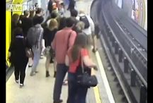 Viral Video - VIDEO - London Man Pushed Onto Train Tracks