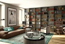 Piazza Venezia - RNDR Studio / Interior Design, Modelling & Rendering for an apartment in the center of Trieste, Italy