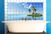 Fliesen Ideen: Fliesensticker | Tile Stickers / Deine #Fliesen sind nicht mehr die schönsten? Du suchst nach einer günstigen und kreativen #Fliesengestaltung? Dann bist du bei #Bilderwelten.de genau richtig. Die schönsten Ideen für #Fliesenbilder und #Fliesenaufkleber findest du hier. In #Bad, #Küche und #WC alles OK ;)
