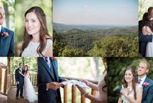 Smoky Mountain Wedding / Weddings shot in the Smoky Mountains by Knoxville wedding photographers 2 Hodges Photography