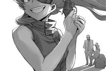 my favorite manga -anime characters