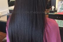 Hair Straightening Perth / Chemical and non chemical straightening and keratin smoothing by Perths No 1 Hair Straightening Salon