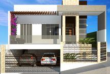 Inspiração para casas / Fachadas ou decorações