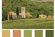 Tuscan colors and inspirations / by ClassicVacationRental.com