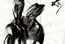 oriental art: insect