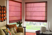 Indoor Roman Shades / Roman Shades are available in a hobbled or flat design. Are you looking for Roman Shades in Southern California? Roman Shades are available with or without a light filtering or blackout liner. Let the true designer in you come out by having Classic Home Improvement Products of Anaheim Hills, California install Roman Shades in the living room or family room of your home today!