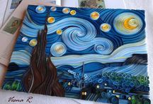 paysage quilling