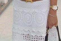 Virkad kjol
