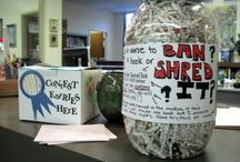 Banned Books Week / Looking for inspiration in advance of Banned Books Week? Look no further than SLJ's BBW Pinterest page curated by guest pinners and bloggers teacher librarian  Kathy M. Burnette (@thebrainlair) and  collection development librarian Molly Wetta. (@mollywetta)