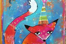 Foxes / by Katy Leitch