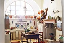 Rustic Italian interiors