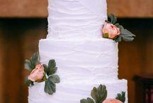 Bruidstaart rustiek