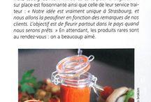 Presse / Articles de presse parlant d'Ô Gourmet