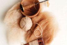 Wool and fiber
