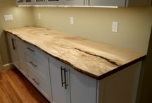live edge counter tops