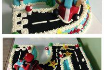 Mario Birthday theme / by Angela Barton