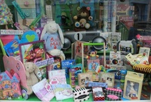 Little Ones Window Displays / We try hard to be creative to bring you fun imaginative displays, window and instore.  www.littleones.ie